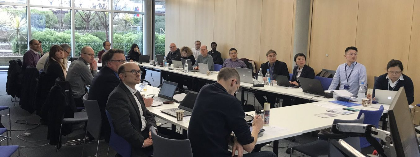Guildford and the University of Surrey hosted the second 5G-DRIVE meeting