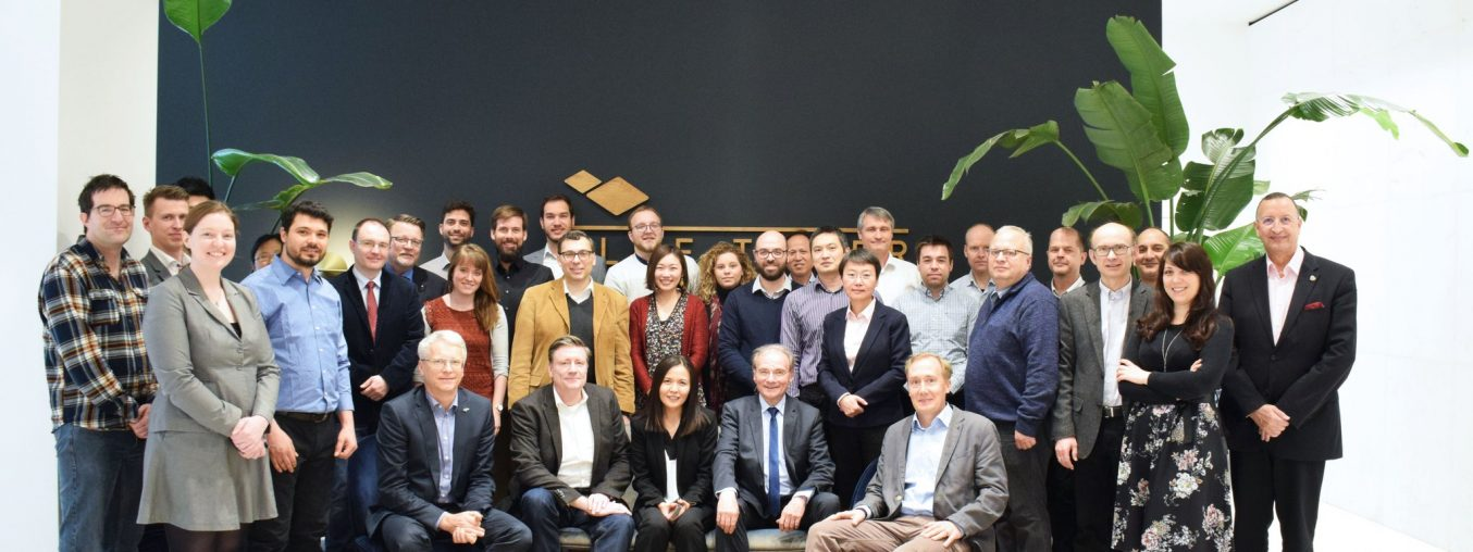 First External Advisory Board Meeting in Brussels
