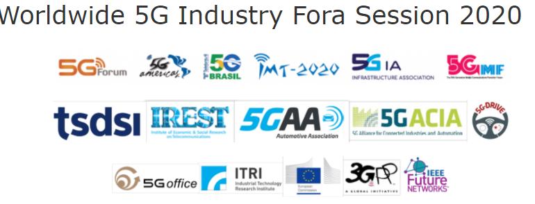 IEEE 5G World Forum - Worldwide 5G Industry Fora Session 2020