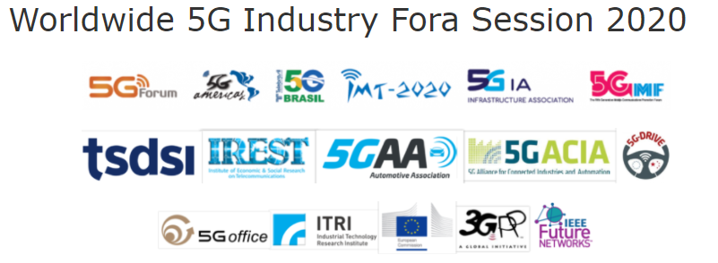 IEEE 5G World Forum - Worldwide 5G Industry Fora Session 2020