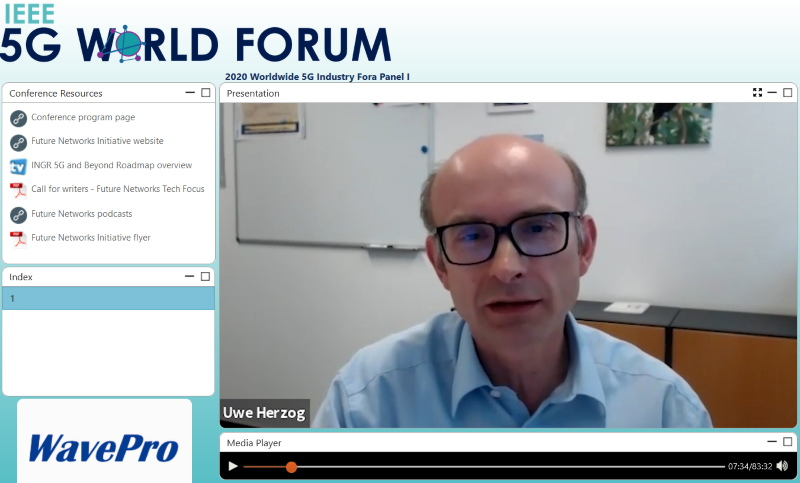 5G-DRIVE at Industry Fora Panel of 5G World Forum